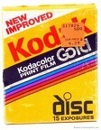 disc : Kodacolor Gold (Kodak)(GDC disc-15)(ACC0795)