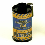 Film 135 : Kodak Ektachrome 64(64 ISO, 20 poses, anglais)(ACC0892)