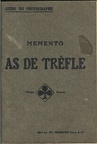 Mémento As de Trèfle 1921