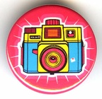 Badge : Lomography, appareil coloré(GAD0868)