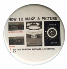 Badge : Polaroid « How to make a picture »(GAD0872)