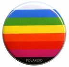 Badge : Polaroid arc-en-ciel(GAD0876)