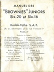 Brownies Juniors Six-20 et Six-16