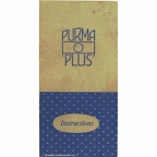 Notice : Purma Plus (Purma) - 1951