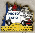 Expo Photo / 1er rallye Paris Moscou Pékin / Equipage Cachan