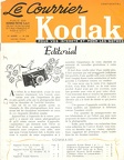 Le Courrier Kodak confidentiel