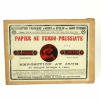 Papier Luminor au ferro-prussiate 13x18 (Manufrance)(ACC1050)