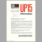 Film double huit UP15 (Orwo) - 1968(CAT0452)
