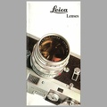 Leica lenses - 1968<br />(CAT0462)