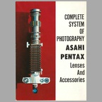 Complete System of Photography (Asahi Pentax) - 1963(CAT0464)