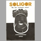 Interchangeable lenses (Soligor) - ~ 1970(CAT0479)