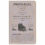 Perfect-Pliant N° 1 (Photo-Hall) - 1904(MAN0573)