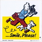Tintin, Smile, Please