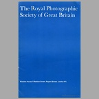 The Royal Photographic Society of Great Britain(NOT0698)