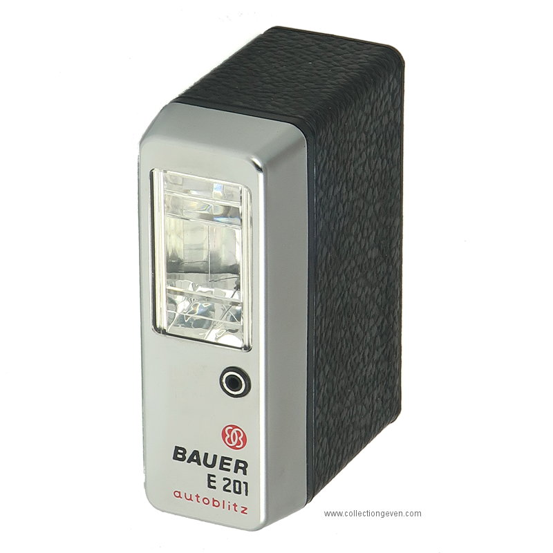 Flash électronique : E201 Autoblitz (Bauer)