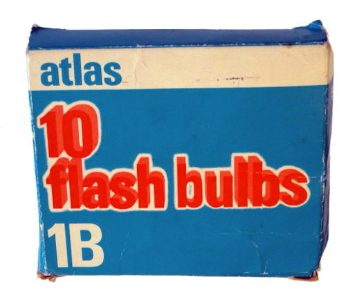 Boîte de 10 flash bulbs 1B (Atlas)